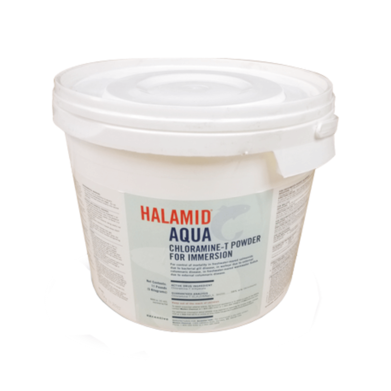 HALAMID® IN AQUACULTURE